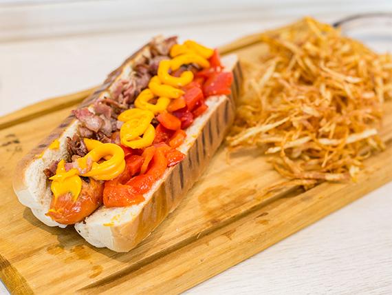 Hot dog Park Avenue