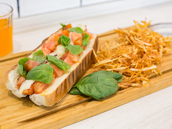 Hot dog Quinta Avenida