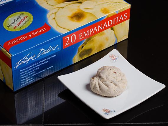 Empanada de alcachofa al merken integral (20 unidades)