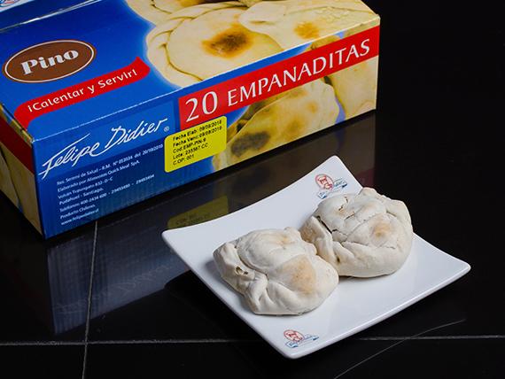Empanada pino de 9 (20 unidades)
