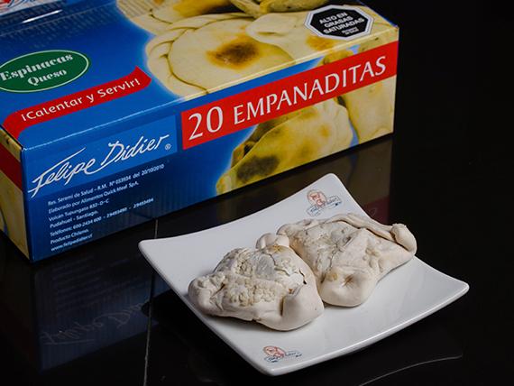Empanada de espinaca (20 unidades)