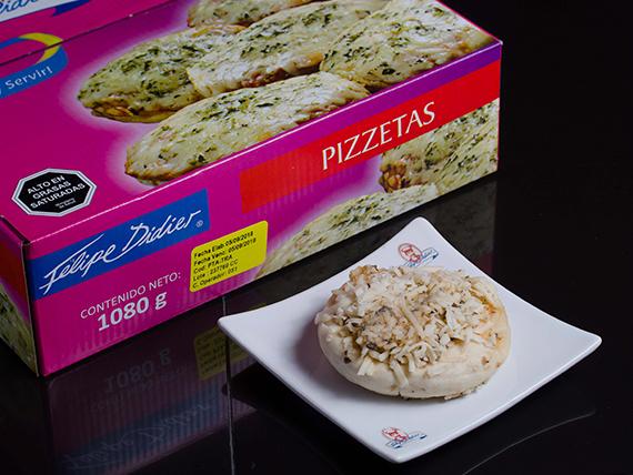 Pizzeta tradicional (18 unidades)