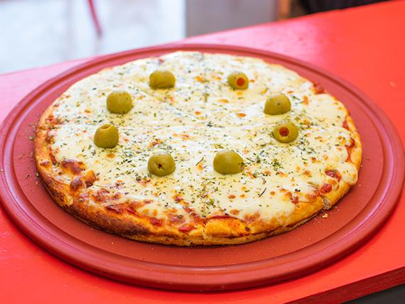 Pizza doble muzzarella