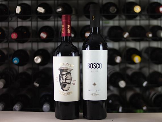 Promo - Vino Otro loco más Malbec + Reserva Malbec