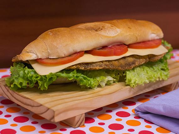 Sándwich de milanesa (completa)