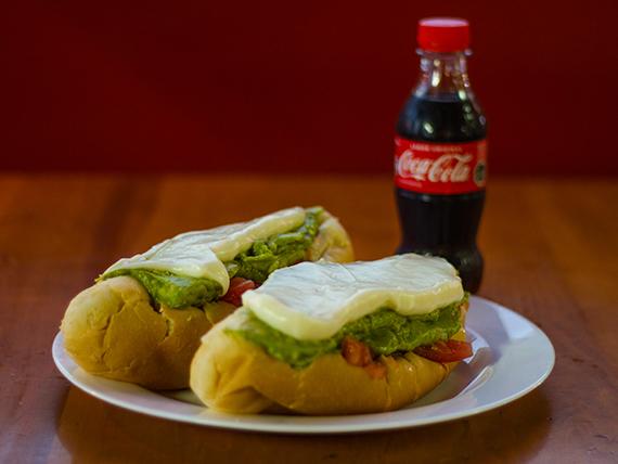 Promo - 2 italianos + bebida lìnea Coca Cola mini 220 ml