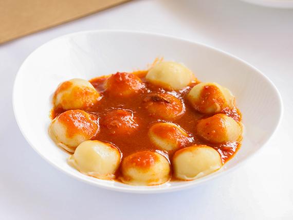 Ñoquis rellenos de jamón y muzzarella (unidad)