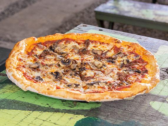 Pizza por la razón o por la fuerza