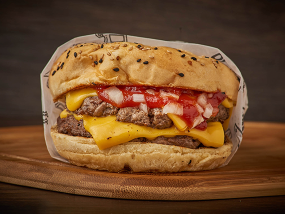Doble cheese burguer