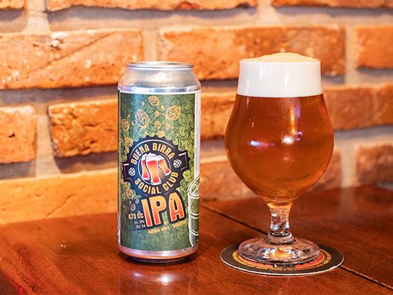 Cerveza IPA lata 473 ml