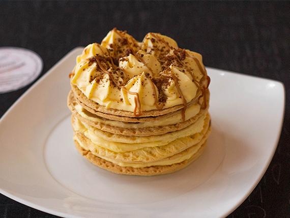 Porción Mini torta hojarasca mango (2-3 pers.)