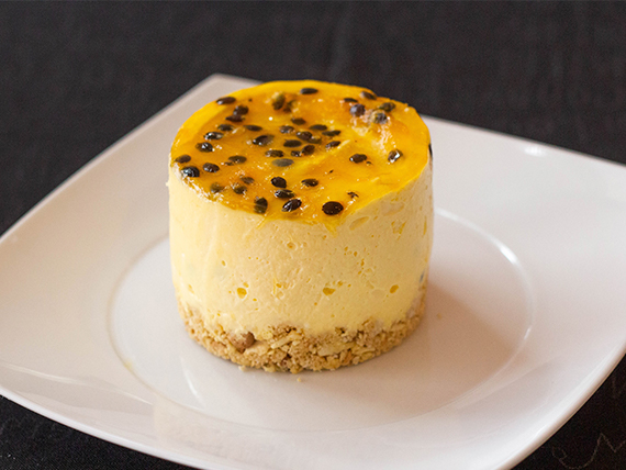 Porción Cheesecake de maracuyá (1 pers.)