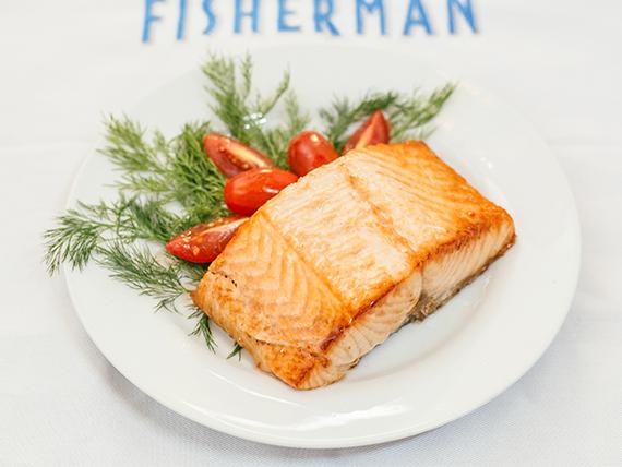 Filet salmon rosado al horno 250 g