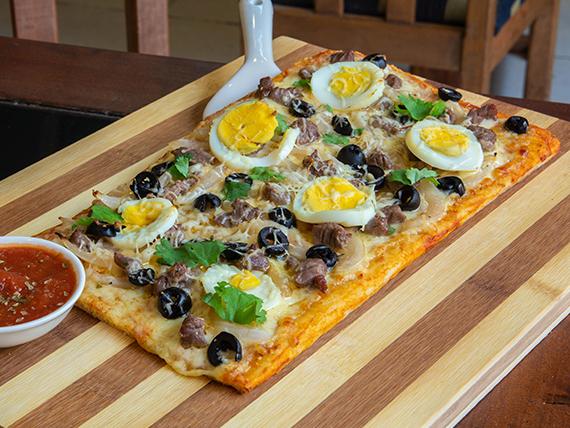 Pizza sabor chileno