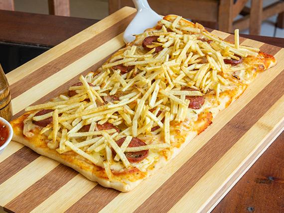 Pizza chorrillana