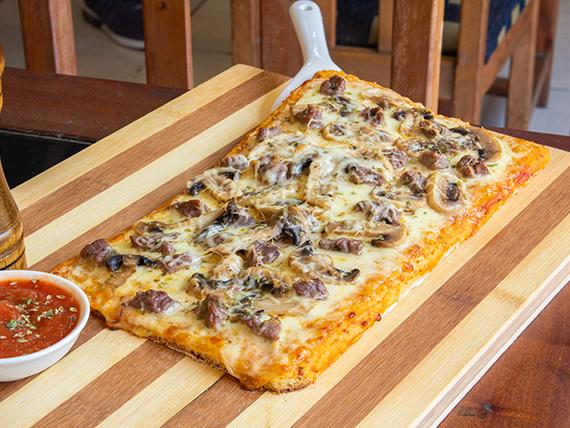 Pizza luco champiñones
