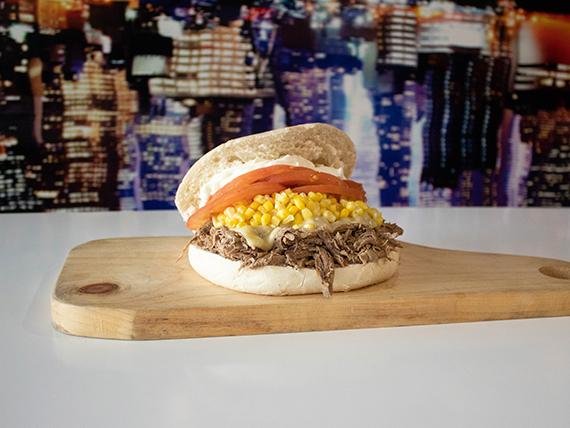 Sandwich chorreado