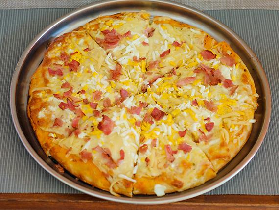 Pizzeta carbonara