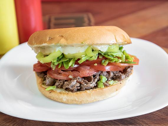 Sándwich Mak chacarero