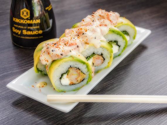 244 - Sake acevichado rolls