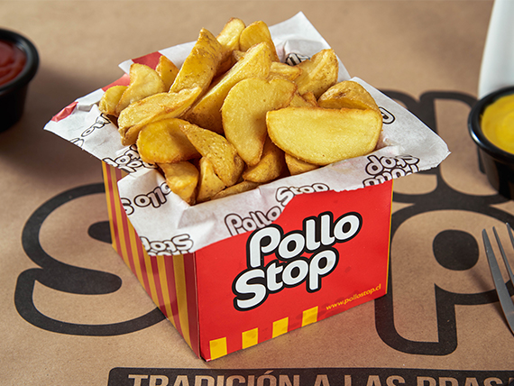 Papas fritas simples criollas