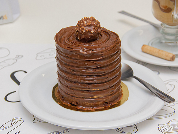 Mini cake rocher