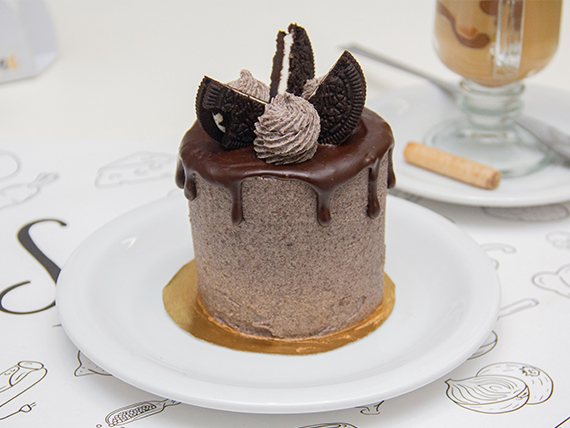 Mini cake de Oreo, cookies & cream