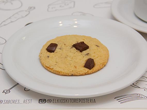 Cookie de chocolate con chips de chocolate