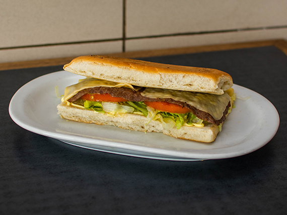 Sándwich de lomo grande