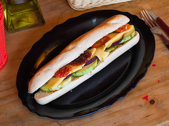 Sándwich vegetariano I