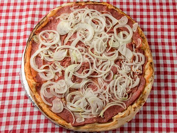 18 - Pizza calabresa