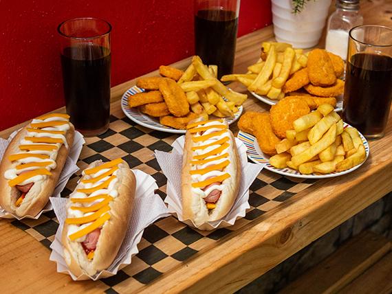 Combo - Hot dog familiar