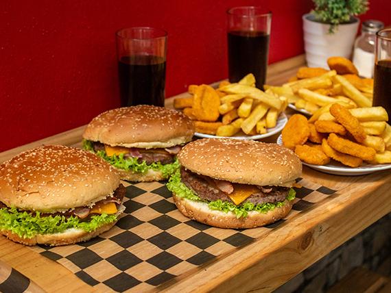 Combo - Burger Win familiar