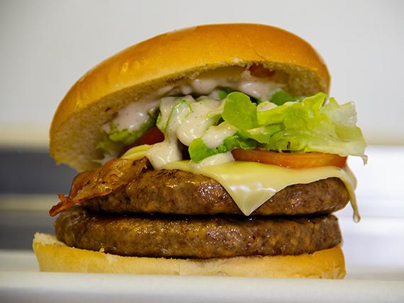 Taz monster burger