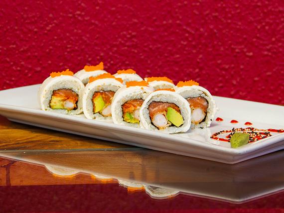 Cheese tempura roll (8 piezas)