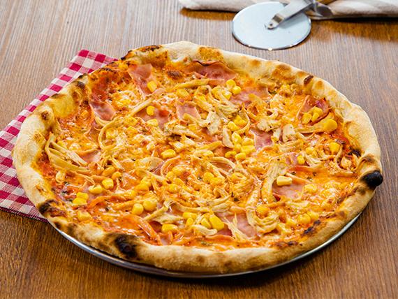 Pizza trilogía