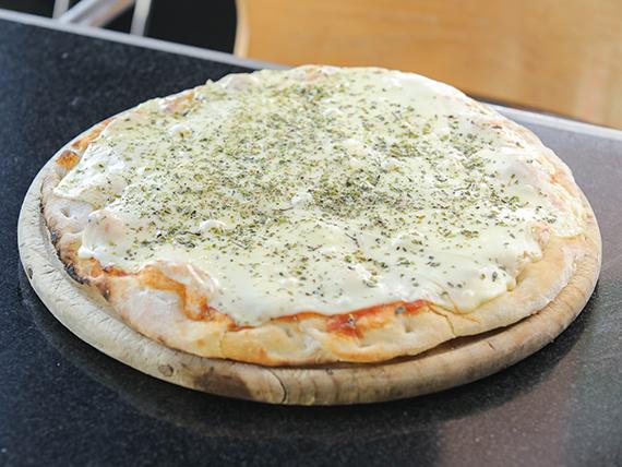 Pizzeta sólo muzzarella