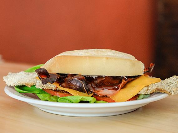 Sándwich especial bacon