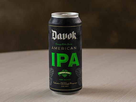 Cerveza Davok lata