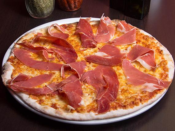 Pizza prosciuitto crudo