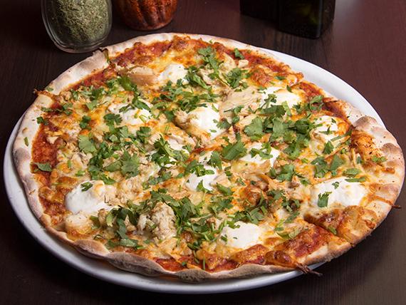 Pizza pico de gallo