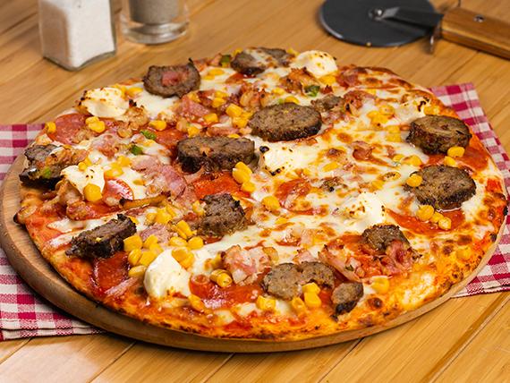 Pizza santo trafficante