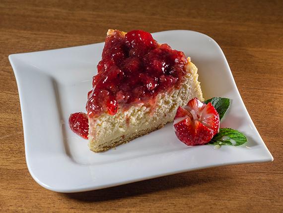 Cheesecake de frutilla
