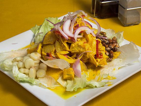Ceviche Perú fusión