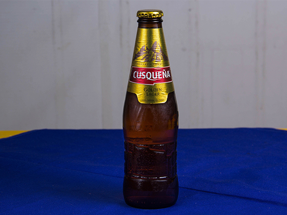 Cerveza Cusqueña premium 350 ml