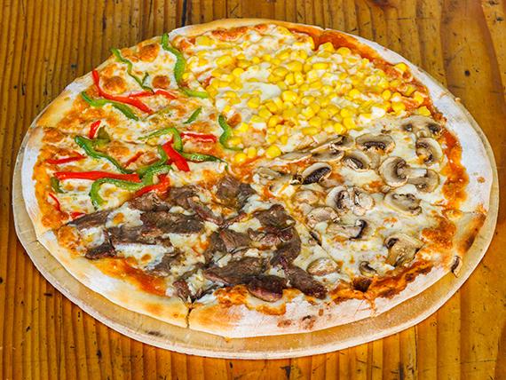 Pizza 4 estaciones (32 cm)