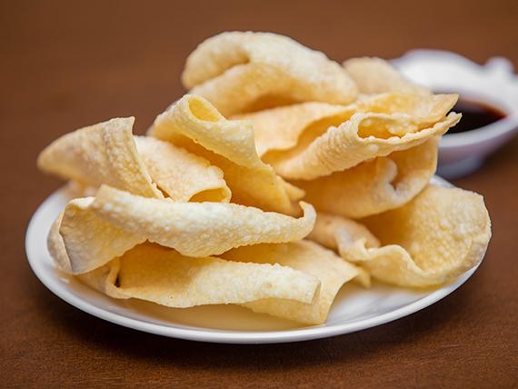 Wantán fritos (8 unidades)