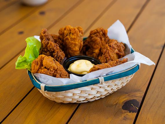 Pollo frito (6 piezas)