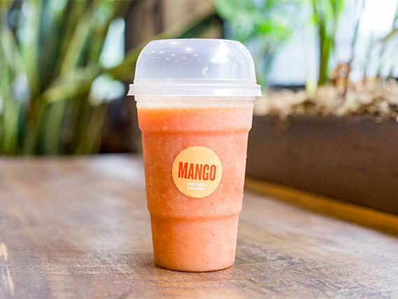 Licuado de mango, frutilla y naranja 370 ml
