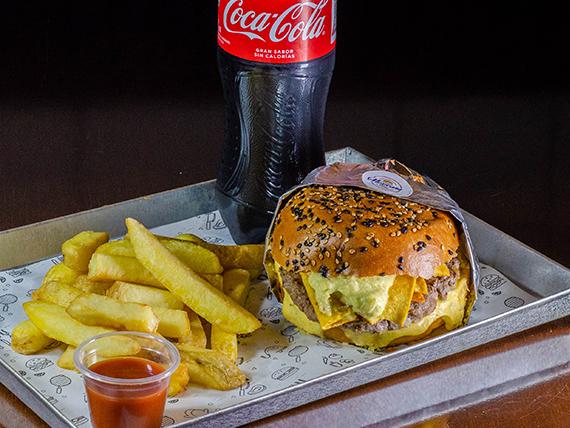 Combo hamburguesa mexicana